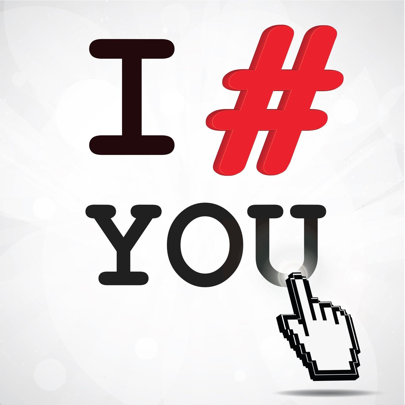 usare hashtag in ambito social