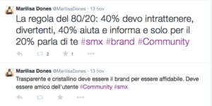 Regola del 80/20_Zinzocchi_SMX Milano 2014_Community manager