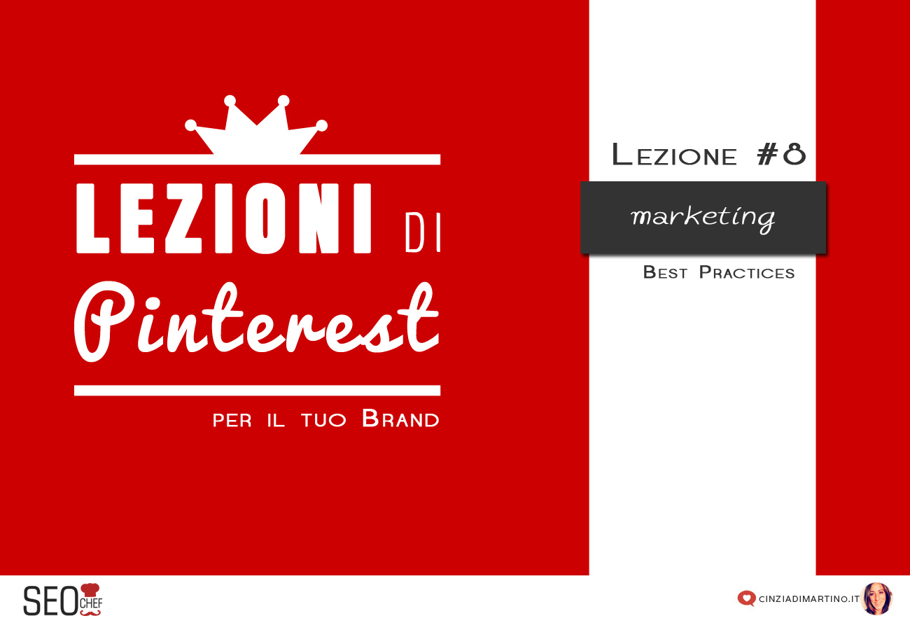 Pinterest per il business: Marketing Best Practices
