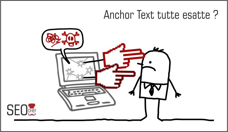 Anchor Text esatte ti penalizza il Penguin