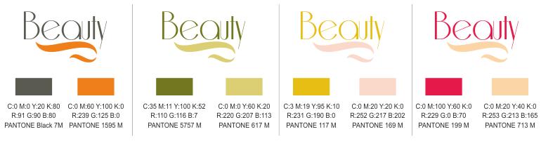 percentuale colore marchio