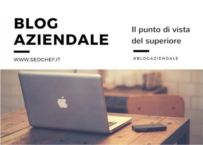 blog in azienda