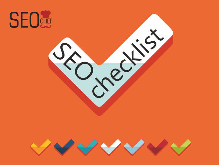SEO checklist 30 passaggi fondamentali