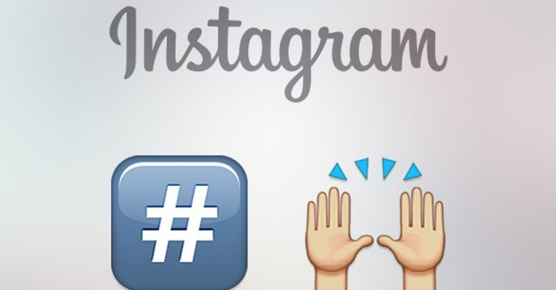 Instagram, hashtag emoticons e restyling grafico