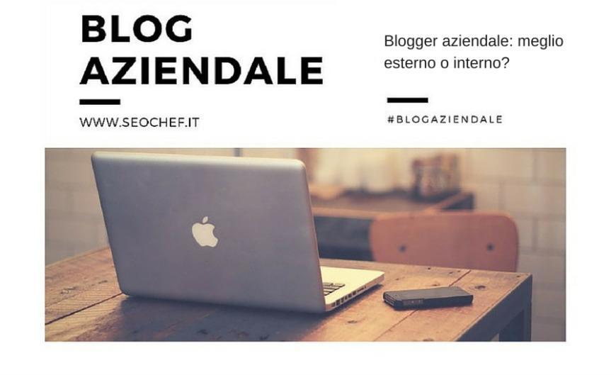 blogger aziendale SEO