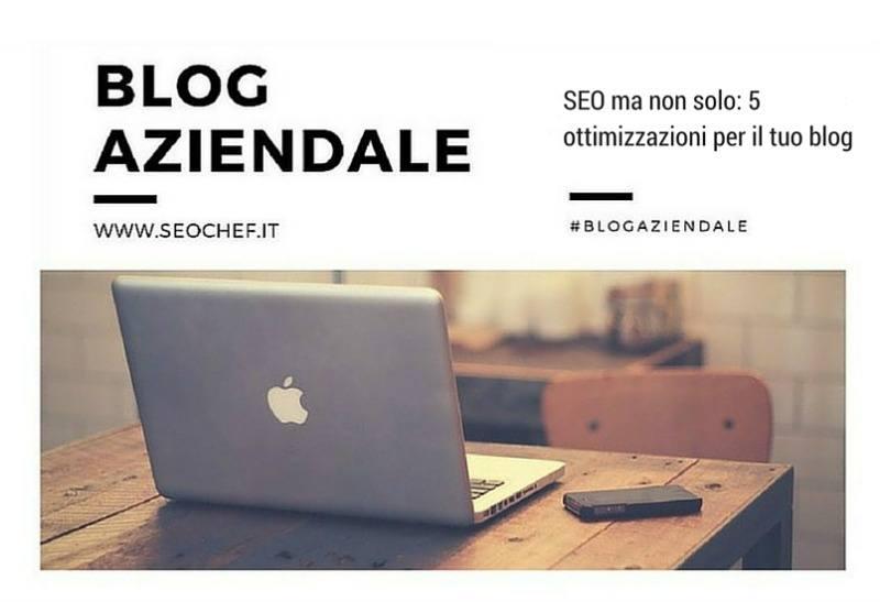 blog aziendale seo