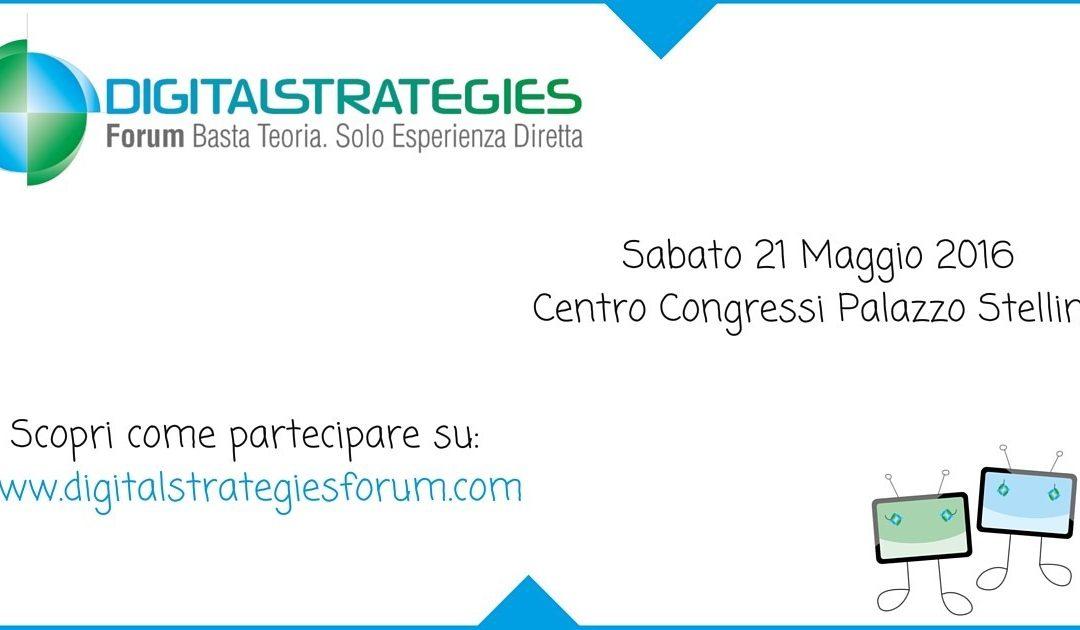 DigitalStrategies Forum, l'evento pratico sulle strategie digitali