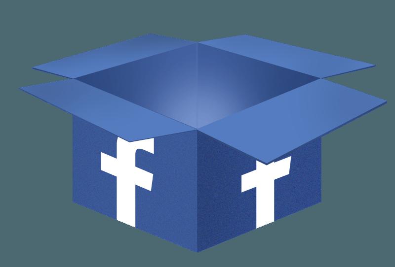Scatola Facebook Account Kit
