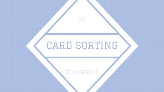 card sorting uxd