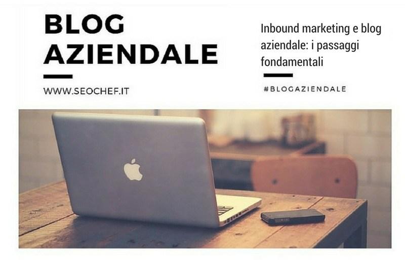 inbound marketing per blog aziendale