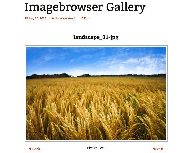 plugin per creare gallerie immagini