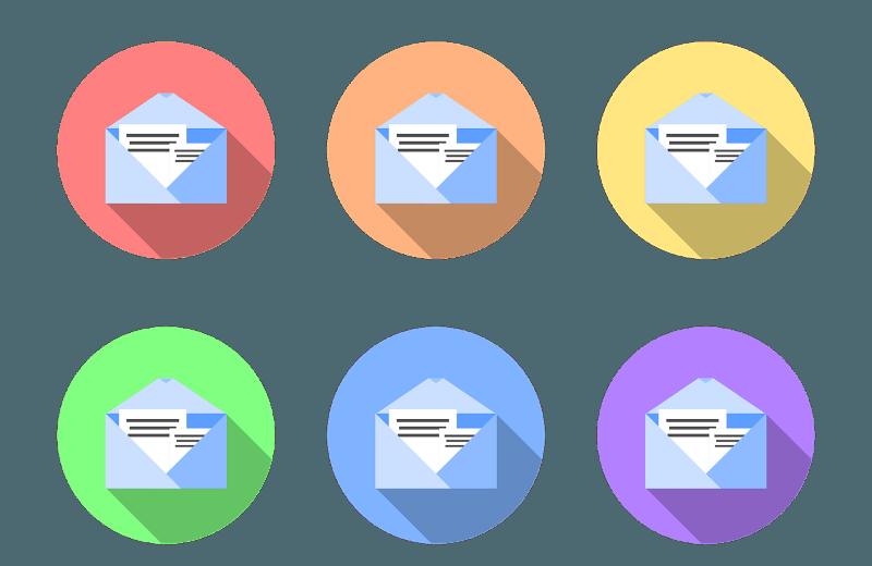 Inserire le gif nelle email: logo posta elettronica