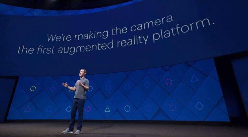 Mark Facebook F8 2017
