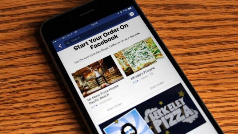 Con Facebook Order Food il pranzo arriva a cas