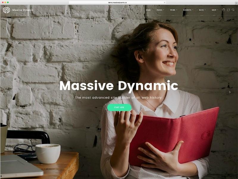 template wordpress
