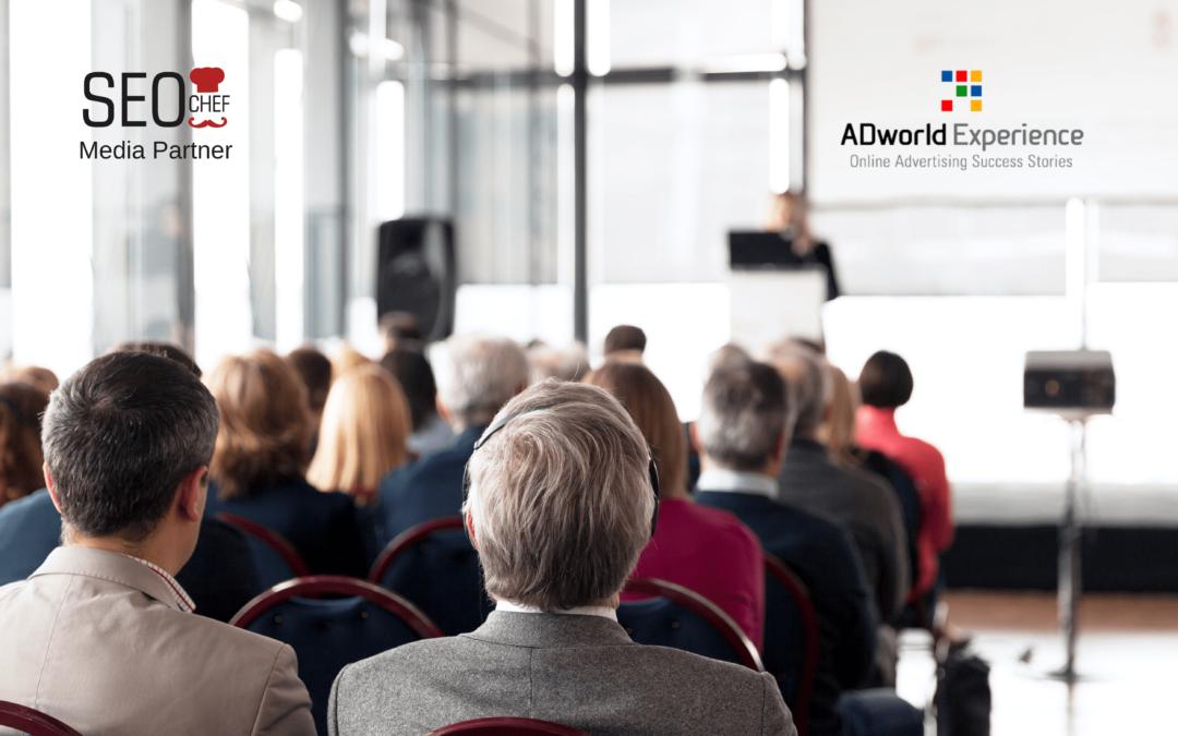 ADworld Experience, il più grande evento europeo per PPC & CRO